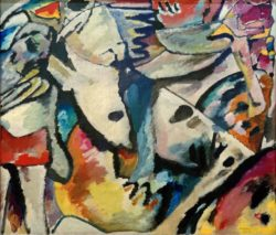 "Wassily Kandinsky ""Improvisation"" 140 x 120 cm"
