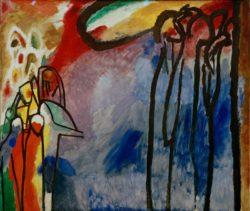 "Wassily Kandinsky ""Improvisation"" 141 x 120 cm"