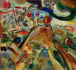 "Wassily Kandinsky ""Kleine Freuden"" 119 x 109 cm"