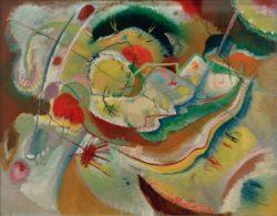 """Wassily Kandinsky """"Kleines Bild Mit Gelb"""" 100 x 78 cm"""