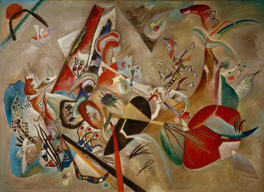 """Wassily Kandinsky """"Im Grau"""" 176 x 129 cm 1"""