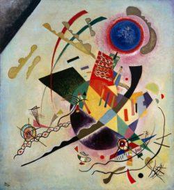 "Wassily Kandinsky ""Blauer Kreis"" 99 x 109 cm"