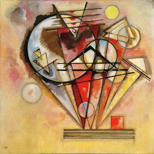 """Wassily Kandinsky """"Auf Spitzen"""" 140 x 140 cm 1"""