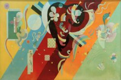 "Wassily Kandinsky ""Composition"" 195 x 113 cm"