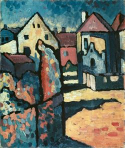 "Wassily Kandinsky ""Dorf"" 44 x 52 cm"