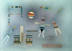 "Wassily Kandinsky ""Composition"" 69 x 49 cm"