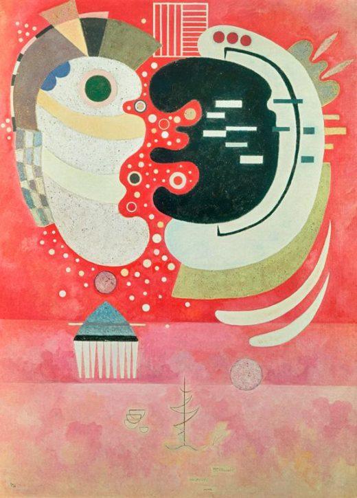 """Wassily Kandinsky """"Entre Deux"""" 97 x 130 cm 1"""