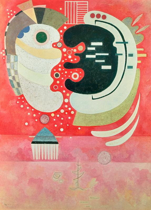 """Wassily Kandinsky """"Entre Deux"""" 97 x 130 cm"""