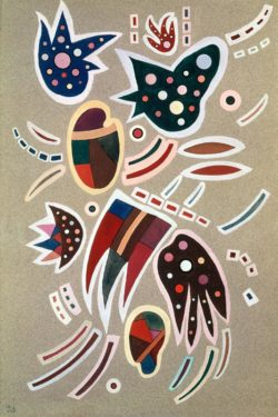 "Wassily Kandinsky ""Gouache"" 31 x 46 cm"