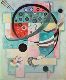 "Wassily Kandinsky ""Fixe"" 60 x 73 cm"