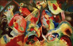 "Wassily Kandinsky ""Improvisation Sintflut"" 150 x 95 cm"