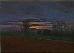 "Caspar David Friedrich ""Sturzacker""  47 x 34 cm"