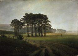"""Caspar David Friedrich """"Der Mittag""""  30 x 21 cm"""