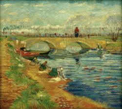 """Vincent van Gogh """"Pont de Gleize bei Arles"""" 46,8 x 51,3 cm"""