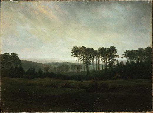 """Caspar David Friedrich """"Der Nachmittag""""  31 x 22 cm 1"""