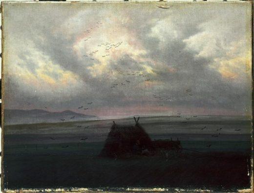 """Caspar David Friedrich """"Nebelschwaden""""  42 x 32 cm 1"""