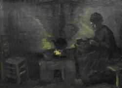 """Vincent van Gogh """"Baeuerin 29,5 x 40 cm"""