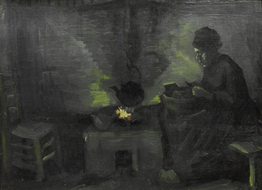 """Vincent van Gogh """"Baeuerin 29,5 x 40 cm 1"""