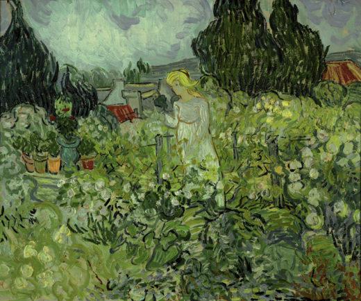 """Vincent van Gogh """"Marguerite Gachet in ihrem Garten"""", 46 x 55,5 cm 1"""