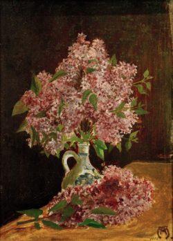 """August Macke """"Flieder"""" 25 x 33 cm"""