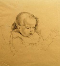 "August Macke ""Wolfgang"" 30 x 32 cm"