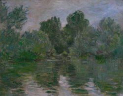 """Claude Monet """"Nebenarm der Seine"""" 72 x 57 cm"""