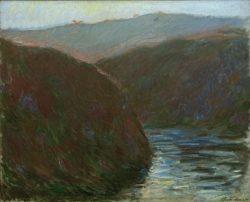 """Claude Monet """"Die Creuse am Abend"""" 81 x 65 cm"""