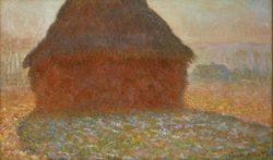 """Claude Monet """"Heuhaufen im Sonnenlicht"""" 100 x 60 cm"""