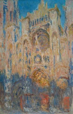 "Claude Monet ""Kathedrale von Rouen"" 65 x 100 cm"