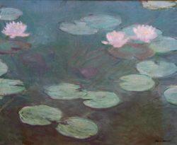 "Claude Monet ""Rosa Seerosen"" 100 x 81 cm"