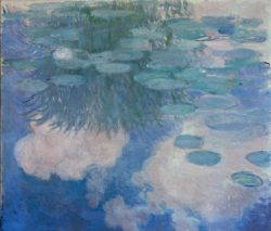 "Claude Monet ""Nympheas -Seerosen"" 150 x 130 cm"
