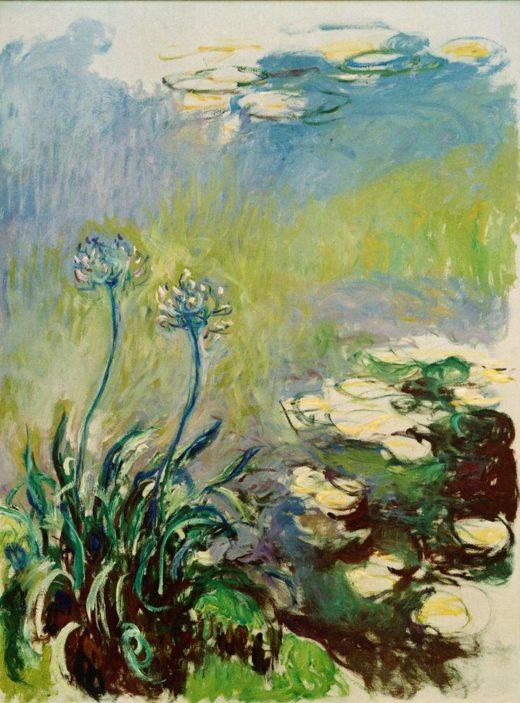 "Claude Monet ""Schmucklilien"" 150 x 200 cm 1"