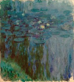 "Claude Monet ""Nympheas -Seerosen"" 180 x 200 cm"
