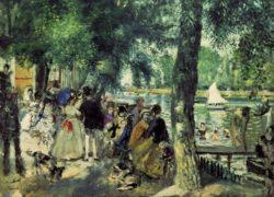 """Auguste Renoir """"Badende in der Seine"""" 80 x 59 cm"""