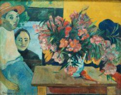 "Paul Gauguin ""Die Blumen Frankreichs (Te tiare Farani)""  93 x 72 cm"