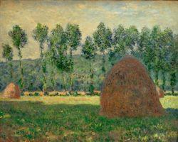 """Claude Monet """"Heuschober bei Giverny"""" 81 x 60 cm"""