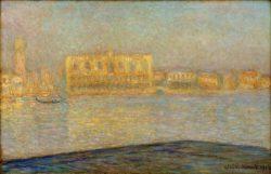 """Claude Monet """"Der Palazzo Ducale"""" 100 x 65 cm"""