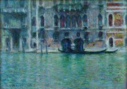 "Claude Monet ""Der Palazzo da Mula"" 92 x 65 cm"