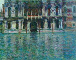 """Claude Monet """"Der Palazzo Contarini"""" 92 x 73 cm"""