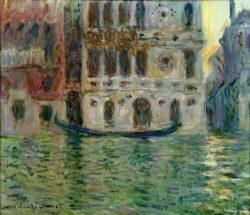 """Claude Monet """"Der Palazzo Dario"""" 65 x 56 cm"""