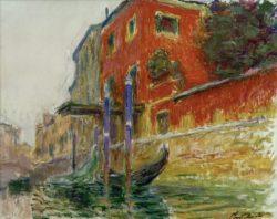 """Claude Monet """"Rotes Haus"""" 81 x 65 cm"""