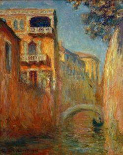"""Claude Monet """"Der Rio della Salute"""" 65 x 81 cm"""