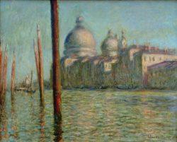 "Claude Monet ""Der Canal Grande"" 92 x 73 cm"