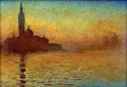 """Claude Monet """"San Giorgio Maggiore"""" 92 x 65 cm"""
