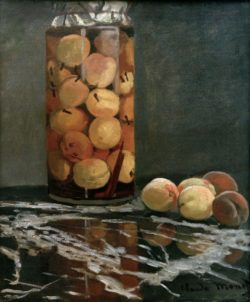 "Claude Monet ""Pfirsichglas"" 46 x 55 cm"