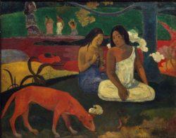 """Paul Gauguin """"Arearea""""  94 x 75 cm"""