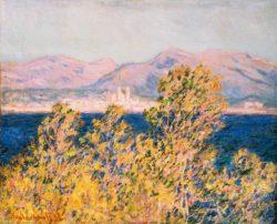"Claude Monet ""Antibes vom Cap d'Antibes"" 81 x 65 cm"