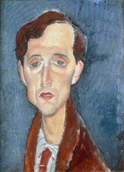 "Amedeo Modigliani ""Frans Haellens"" 46 x 34""cm"