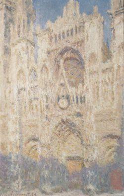 """Claude Monet """"Kathedrale Rouen in Moskau"""" 65 x 100 cm"""