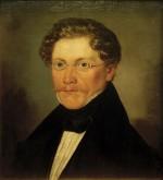 "Carl Spitzweg ""Spitzweg Self-Portrait"" 45 x 42 cm"